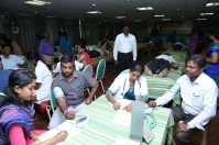 Mass Blood Donation Camp at our Head quarters @ 02.10.2016
