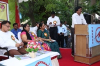 Er.Veeramani, Chief Engineer / Regulatory Cell / TANGEDCO addressing in the Inaugural Function of MBD @ Chennai on 02.10.2016