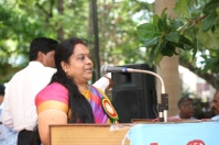 Er.A.Auxilium Jaya Mary, Director Operation / TANTRANSCO addressing in the Inaugural Function of MBD @ Chennai on 02.10.2016