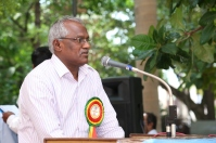Thiru.S.Arulsamy, Director Finance / TANGEDCO addressing in the Inaugural Function of MBD @ Chennai on 02.10.2016