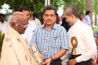 Thiru.K.G.Samy, General Secretary of Dr.Ambedkar Employees Union in hounoured in the inaugural function of MDB at Chennai on 02.10.2016