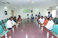 Our CMD and Chief Guests in a small get together in the inaugural function of our MBD @ Chennai on 02.10.2016